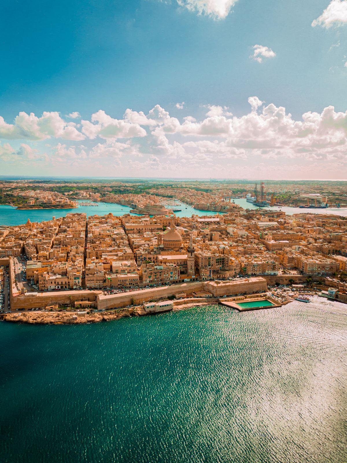 Malta - aerial