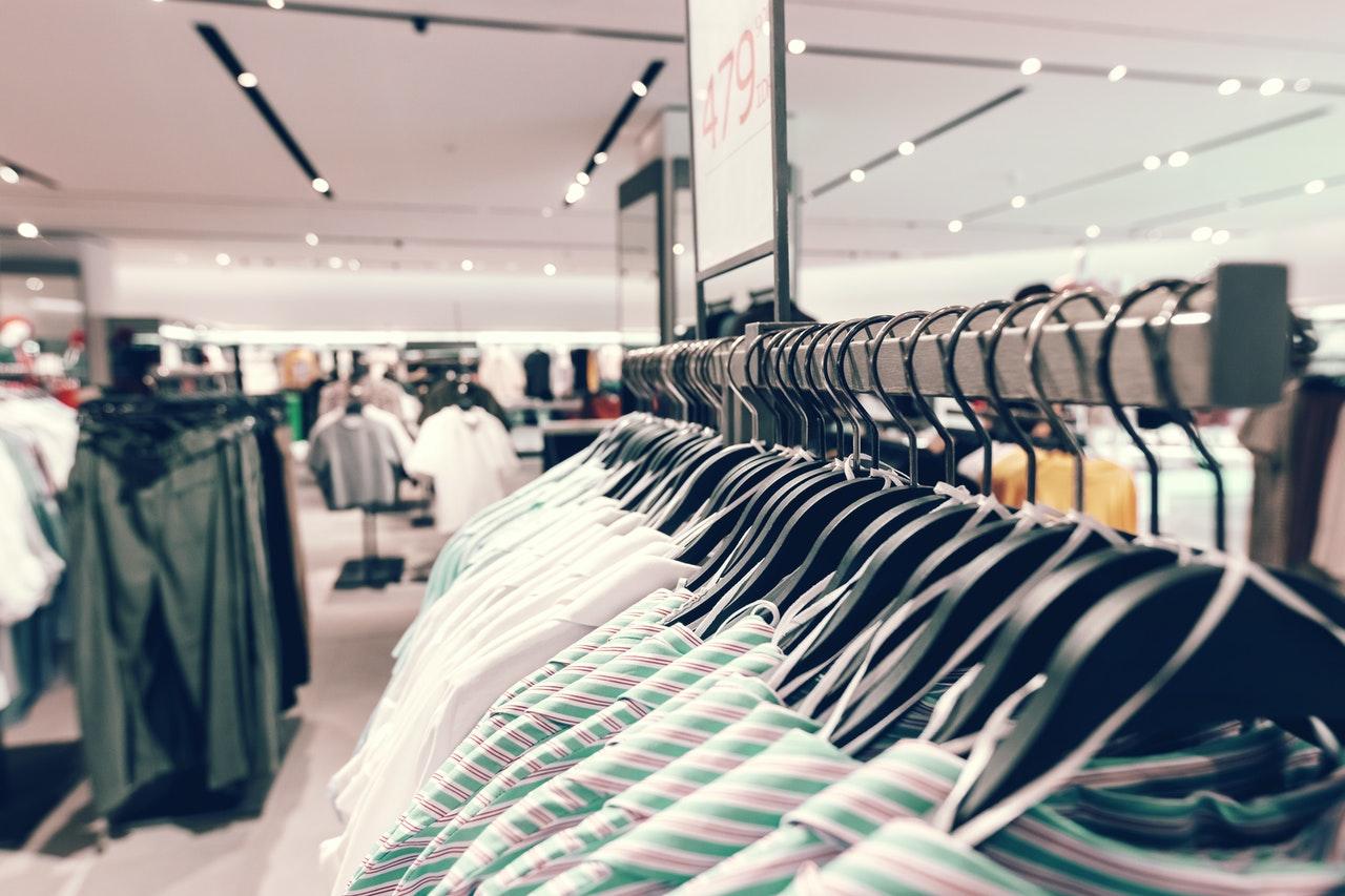 retail shop clothes