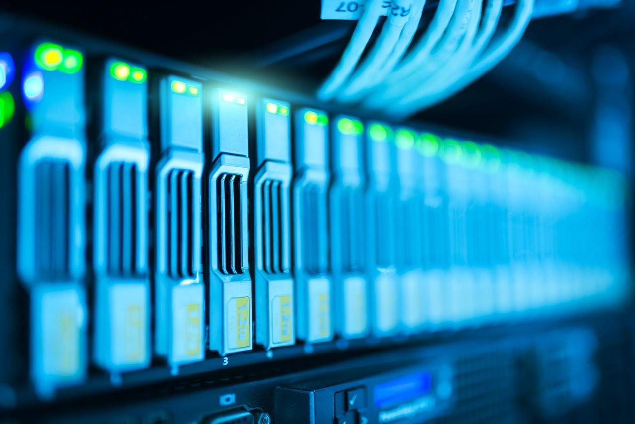 data centre hard drive pexels