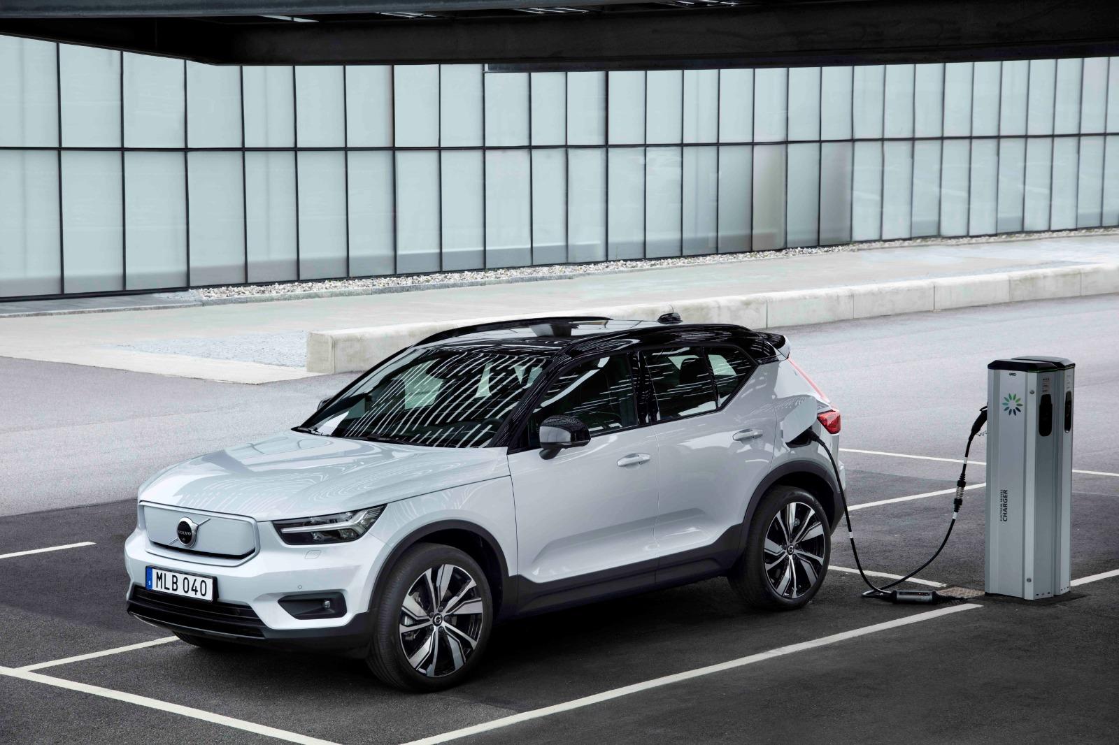 Volvo EV Charging