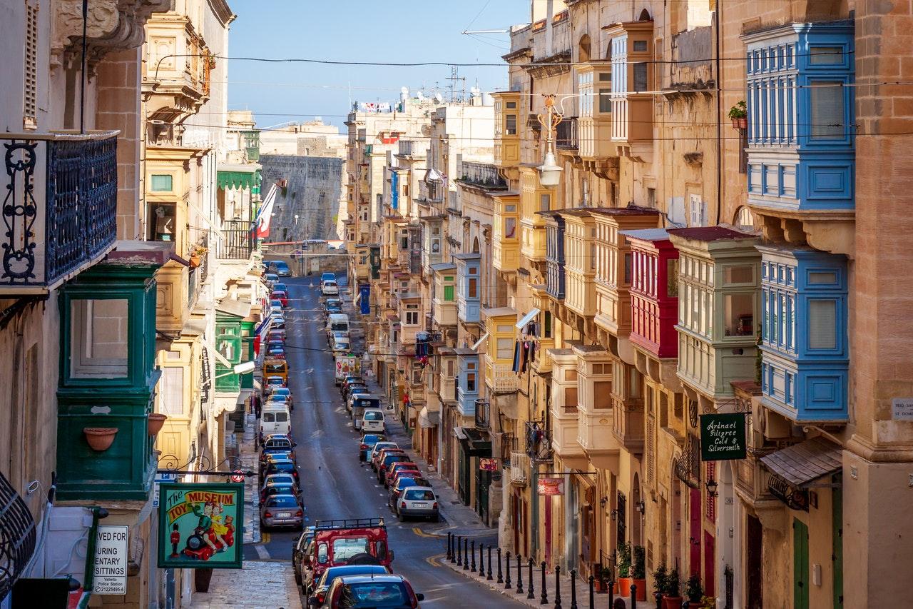 Malta Empty Street