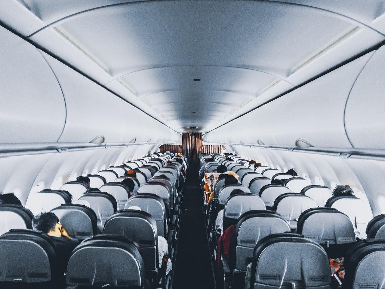 Plane interior - tourism