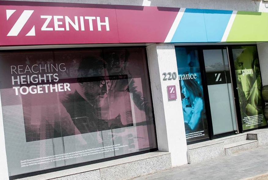 Zenith office front