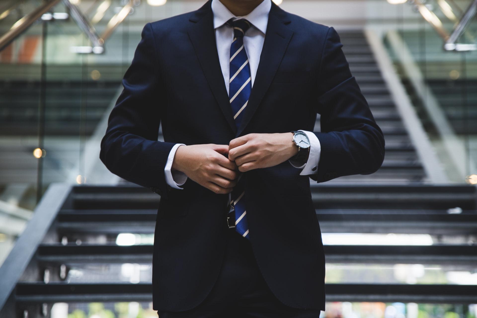 man suit work employment