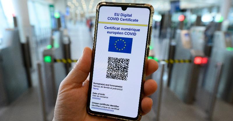 EU travel pass