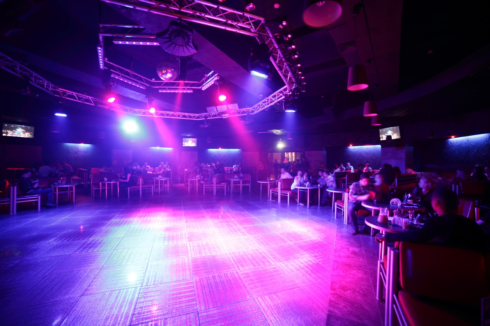 Empty Nightclub