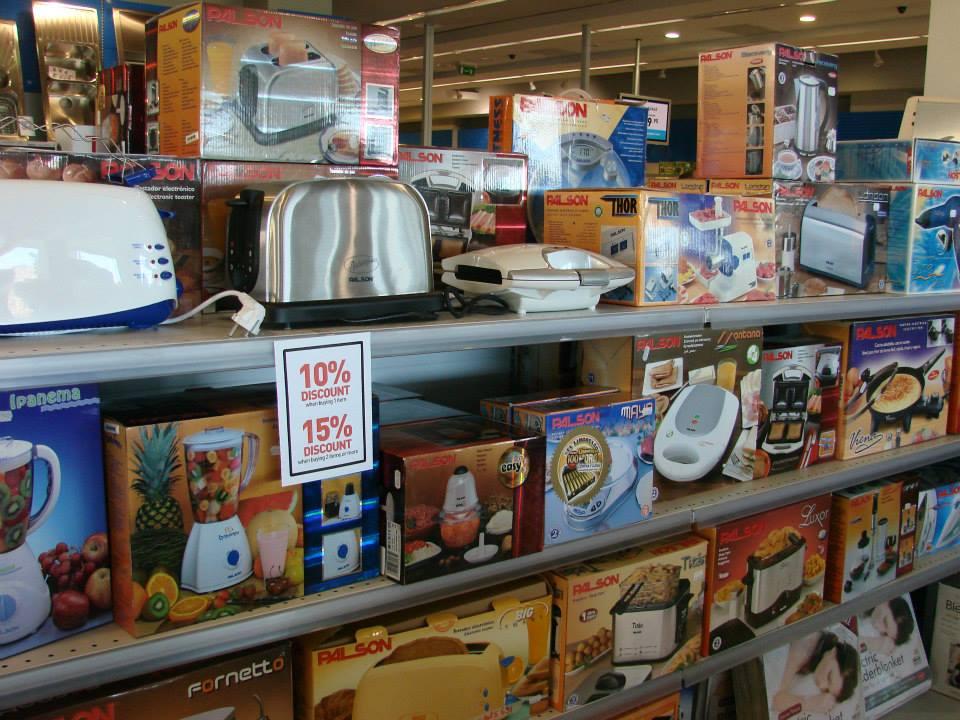 appliances shelves shop