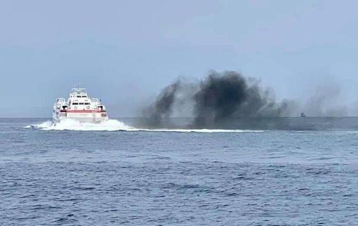virtu ferries smoke