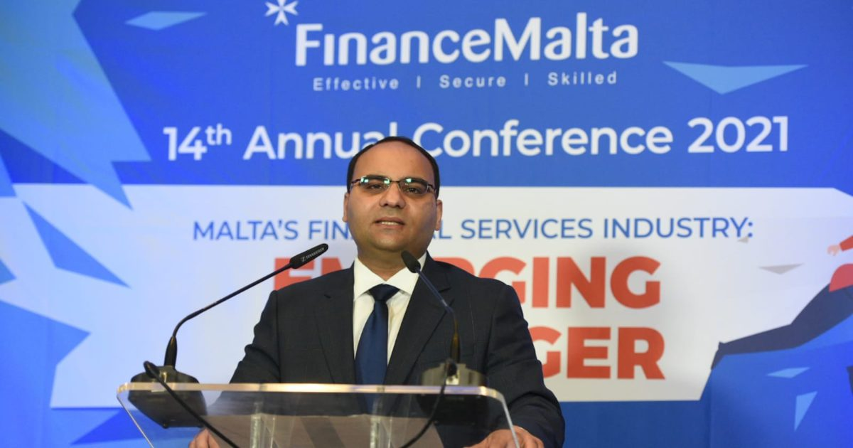 Clyde Caruana - FinanceMalta 14th Annual Conference - crop for linked in