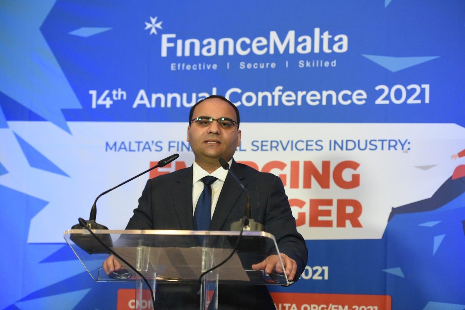 Clyde Caruana - FinanceMalta 14th Annual Conference