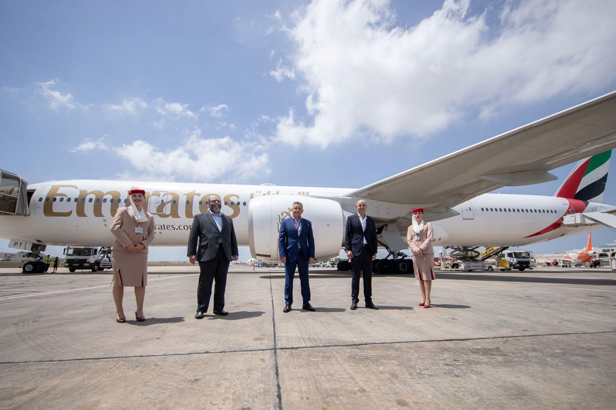 Emirates returns to Malta - pic