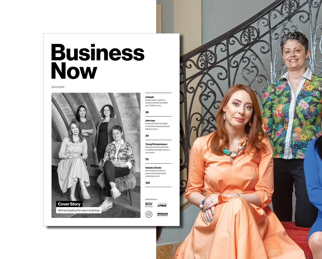 Business Now magazine page icon