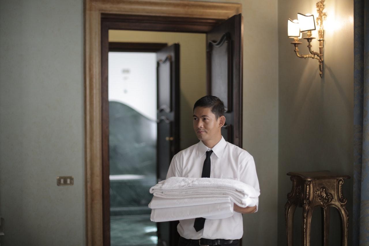 hotel employee worker