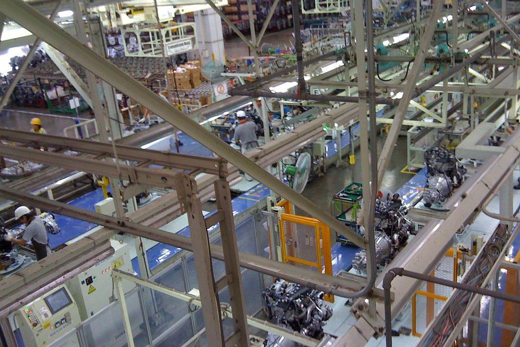 Toyota factory