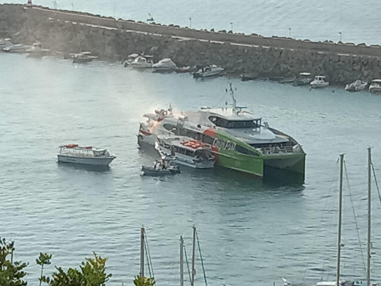 Gozo Fast Ferry fire