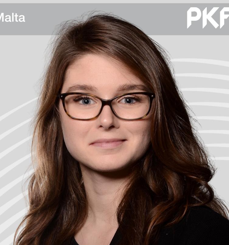 Lina Klesper PKF Malta Legal Intern