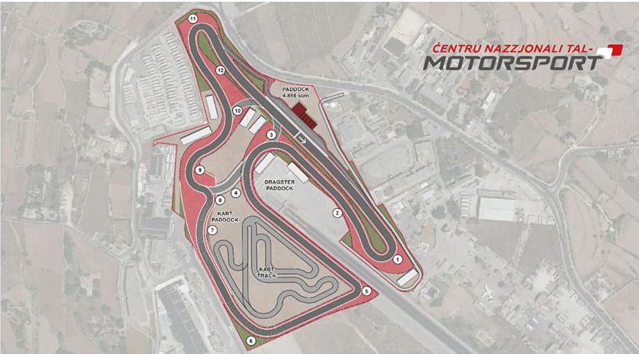 Motorsport plans hal far