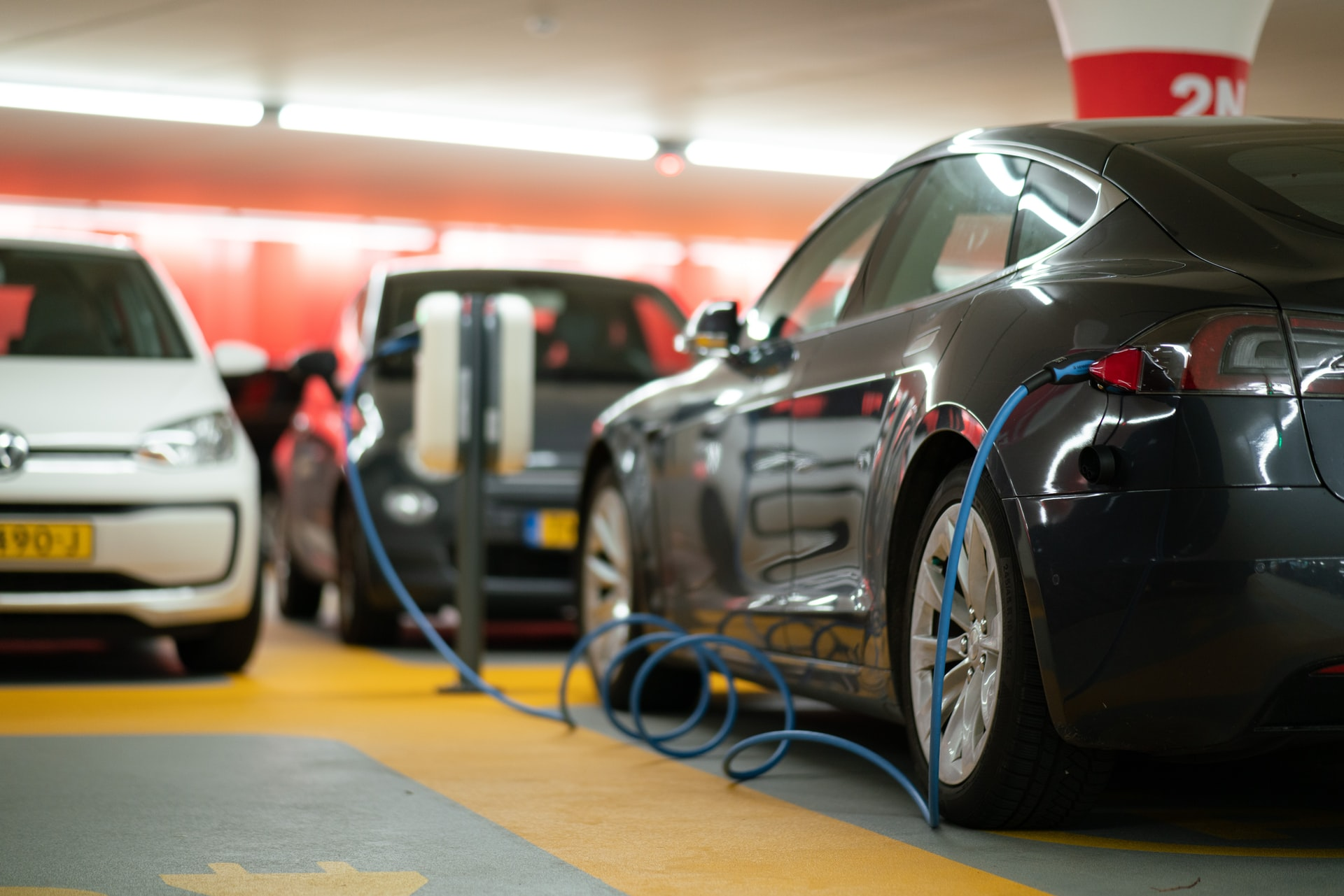 electric vehicle parking charging