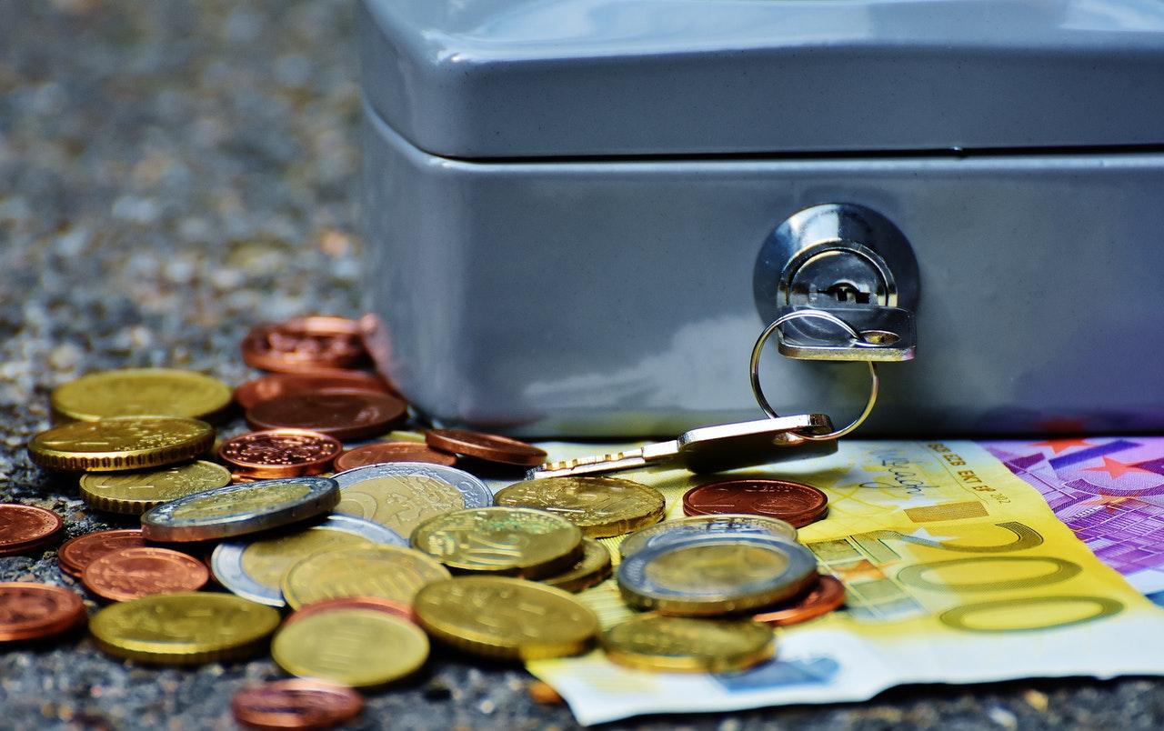 Money lockbox finances
