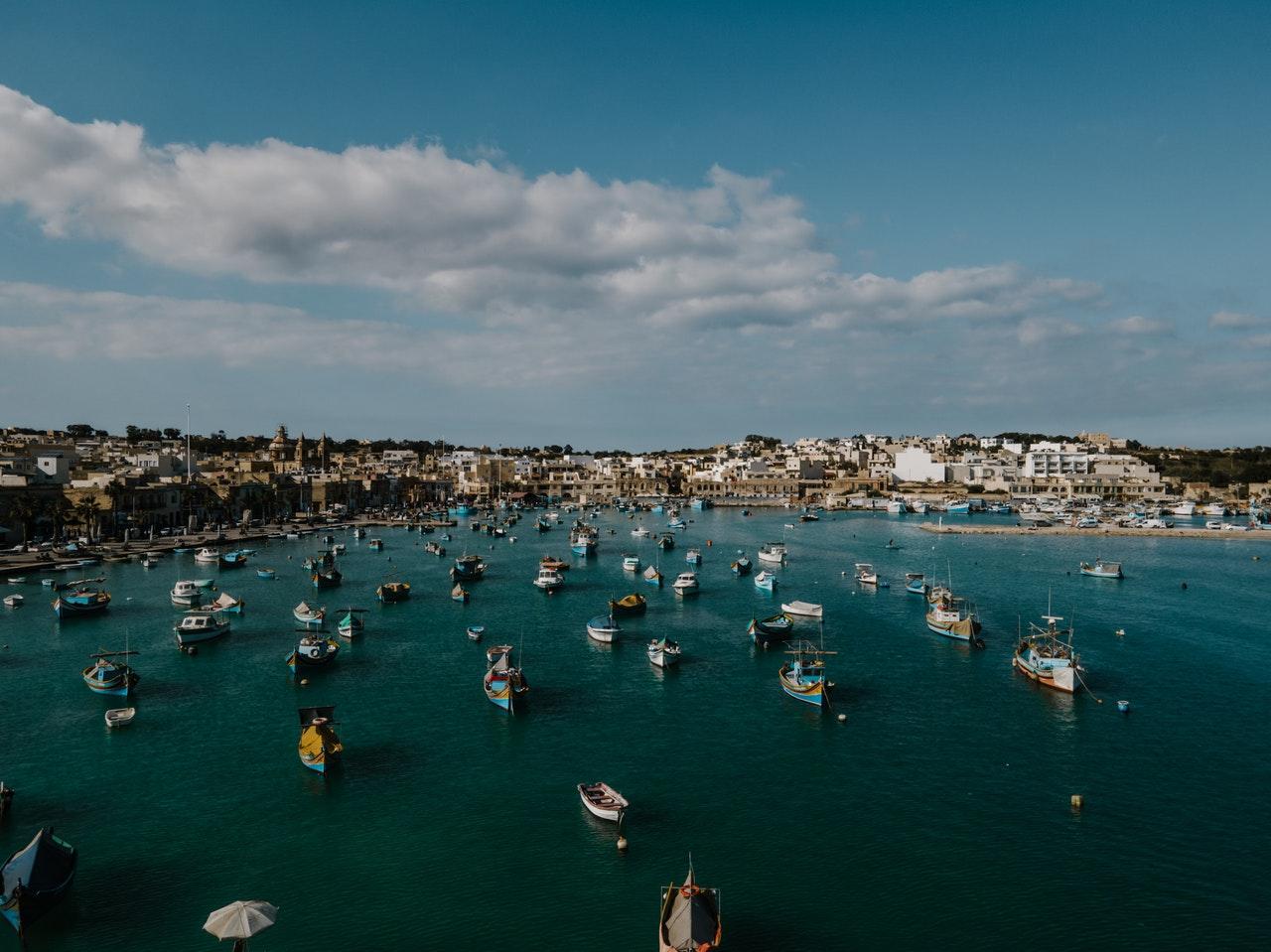 Malta marina boats pexels