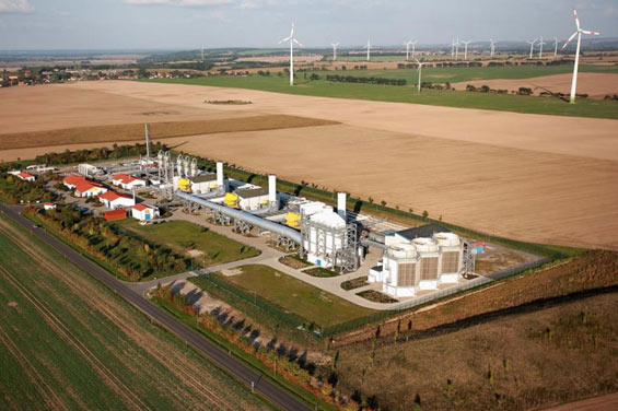 mallnow gas compressor station