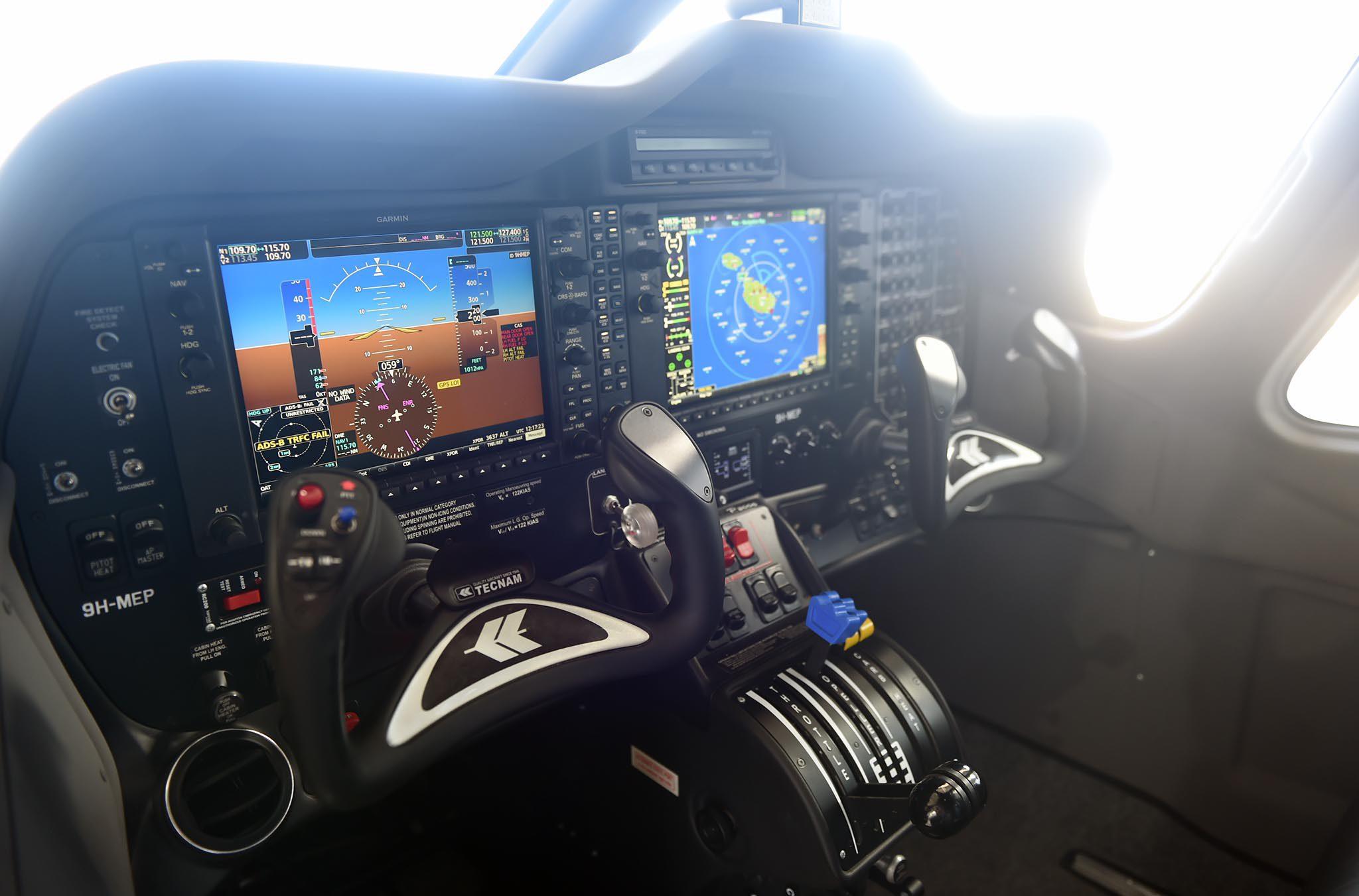 pilot aircraft controls